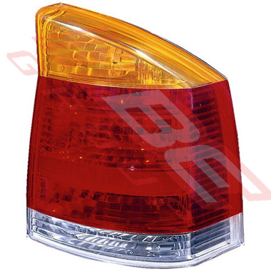 5078098-2G -REAR LAMP -R/H -AMBER/CLEAR/RED -TO SUIT OPEL VECTRA 2002-