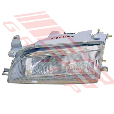 8176094-11G -HEADLAMP -L/H -W/E -PLASTIC LENS -TO SUIT TOYOTA COROLLA AE100 1992-