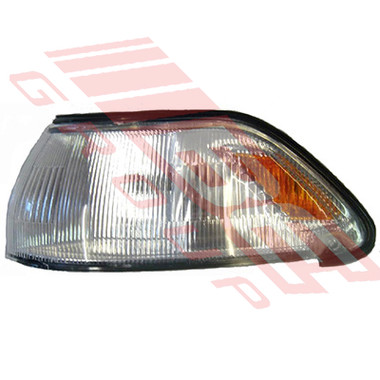 8160097-1 -CORNER LAMP -L/H -AMBER+CLEAR -TO SUIT TOYOTA CORONA ST170 1988-90