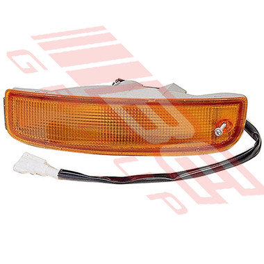 8193097-51 -BUMPER LAMP -L/H -AMBER -TO SUIT TOYOTA HIACE 1995-