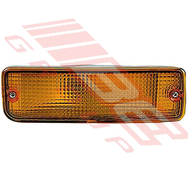 8125097-01G -BUMPER LAMP -L/H -AMBER -TO SUIT TOYOTA HILUX 2WD/4WD 1989-98