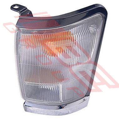 8127097-13G -CORNER LAMP -L/H -CHROME/SILVER -TO SUIT TOYOTA HILUX 2WD/4WD 1999-01