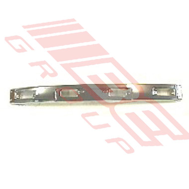 8123090-2 -FRONT BUMPER -CHROME -CENTRE SECTION -TO SUIT TOYOTA HILUX 4WD 1984-89