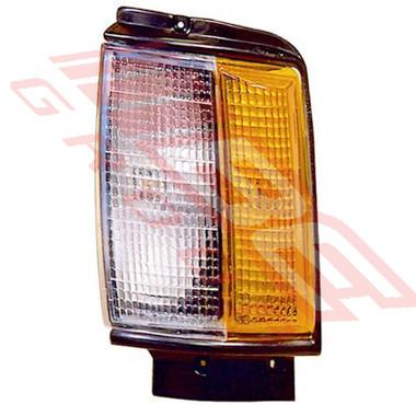 8123097-1 -CORNER LAMP -L/H -BLACK TRIM -TO SUIT TOYOTA HILUX 2WD/4WD 1984-86
