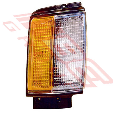 8123097-2 -CORNER LAMP -R/H -BLACK TRIM -TO SUIT TOYOTA HILUX 2WD/4WD 1984-86