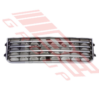 8130099-0 -GRILLE -SILVER/GREY -TO SUIT TOYOTA LANDCRUISER FJ60 1981-87