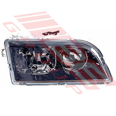 9042194-4G -HEADLAMP -R/H -4 PIN -BLACK -TO SUIT VOLVO S40/V40 2001-03