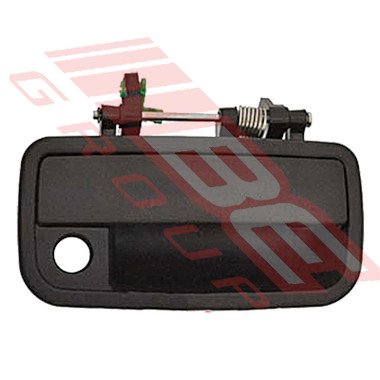 1224010-2 -DOOR HANDLE -FRONT OUTER -R/H -BLACK -TO SUIT DAIHATSU CHARADE G200 1993-