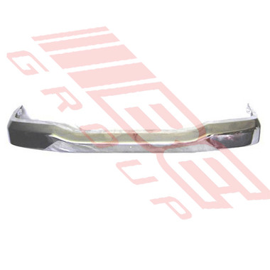 2587190-1 -FRONT BUMPER -CHROME -TO SUIT FORD COURIER 2002-