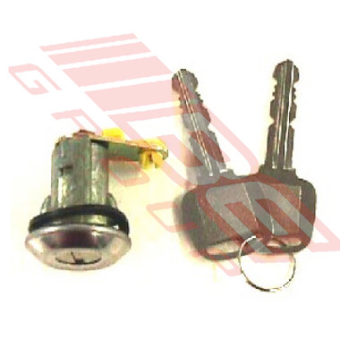 3430061-1 -DOOR LOCK CYLINDER -W/KEY -L/H -TO SUIT MAZDA 323 SDN-H/B 1981-85