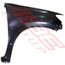 8128131-24 -FRONT GUARD -R/H -W/O SIDE LAMP HOLE & W/FLARE HOLE -TO SUIT TOYOTA HILUX 2011 - 4WD -SR5 TYPE