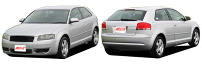 FIND NEW AFTERMARKET PARTS TO SUIT AUDI A3 2003-
