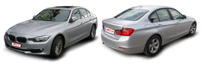 FIND NEW AFTERMARKET PARTS TO SUIT BMW 3 SERIES F30 2012-