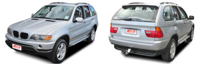 FIND NEW AFTERMARKET PARTS TO SUIT BMW X5 E53 2000-