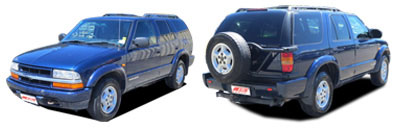 FIND NEW AFTERMARKET PARTS TO SUIT CHEVROLET BLAZER 1994-2000