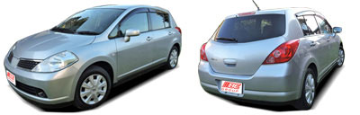 FIND NEW AFTERMARKET PARTS TO SUIT NISSAN TIIDA 2005-