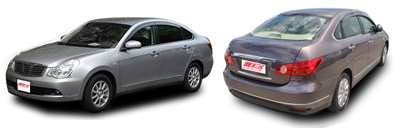 FIND NEW AFTERMARKET PARTS TO SUIT NISSAN BLUEBIRD SYLPHY G11 4DR SEDAN 2005-