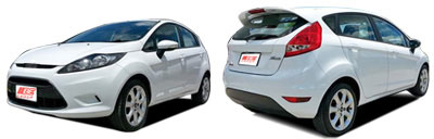 FIND NEW AFTERMARKET PARTS TO SUIT FORD FIESTA MK7 2008-