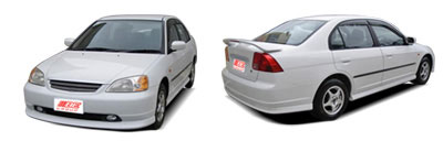 FIND NEW AFTERMARKET PARTS TO SUIT HONDA CIVIC EL 2000-2005