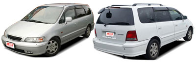 FIND NEW AFTERMARKET PARTS TO SUIT HONDA ODYSSEY 1995-1998