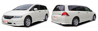 FIND NEW AFTERMARKET PARTS TO SUIT HONDA ODYSSEY 2003-