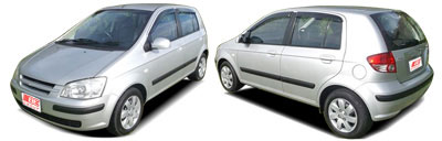 FIND NEW AFTERMARKET PARTS TO SUIT HYUNDAI GETZ 2002-