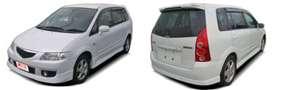FIND NEW AFTERMARKET PARTS TO SUIT MAZDA PREMACY 1999-2004