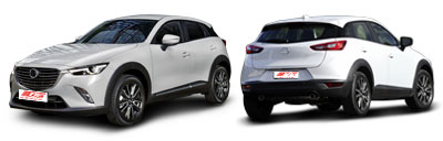 FIND NEW AFTERMARKET PARTS TO SUIT MAZDA CX-3 2015-