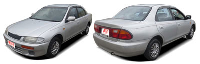 FIND NEW AFTERMARKET PARTS TO SUIT MAZDA 323 SEDAN 1995-