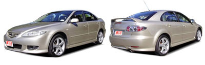 FIND NEW AFTERMARKET PARTS TO SUIT MAZDA 6 2003-