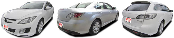 FIND NEW AFTERMARKET PARTS TO SUIT MAZDA 6 2008-