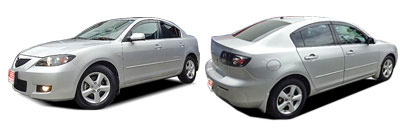 FIND NEW AFTERMARKET PARTS TO SUIT MAZDA 3 2004-