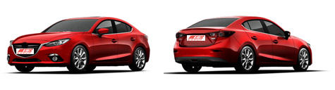 FIND NEW AFTERMARKET PARTS TO SUIT MAZDA 3 2014-