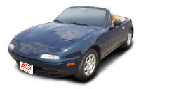 FIND NEW AFTERMARKET PARTS TO SUIT MAZDA MX5/EUNOS 1990-1997