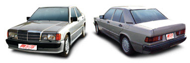 FIND NEW AFTERMARKET PARTS TO SUIT MERCEDES 190E W201