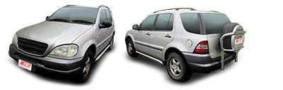FIND NEW AFTERMARKET PARTS TO SUIT MERCEDES M CLASS W163 1998-