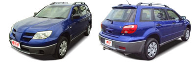 FIND NEW AFTERMARKET PARTS TO SUIT MITSUBISHI AIRTREK 2005-