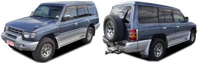 FIND NEW AFTERMARKET PARTS TO SUIT MITSUBISHI PAJERO 1998-2000