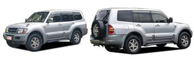 FIND NEW AFTERMARKET PARTS TO SUIT MITSUBISHI PAJERO 2000-