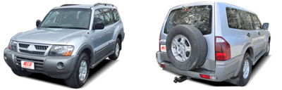 FIND NEW AFTERMARKET PARTS TO SUIT MITSUBISHI PAJERO 2003-