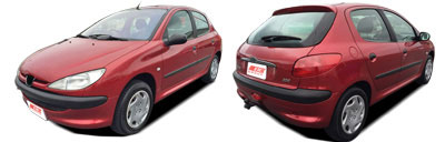 FIND NEW AFTERMARKET PARTS TO SUIT PEUGEOT 206 1998-