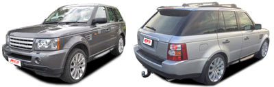 FIND NEW AFTERMARKET PARTS TO SUIT RANGE ROVER SPORT 2005-