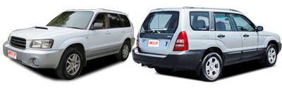 FIND NEW AFTERMARKET PARTS TO SUIT SUBARU FORESTER 2003-