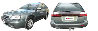 FIND NEW AFTERMARKET PARTS TO SUIT SUBARU LEGACY BE/BH 1999-