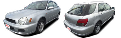 FIND NEW AFTERMARKET PARTS TO SUIT SUBARU IMPREZA 2000-