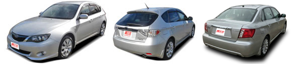 FIND NEW AFTERMARKET PARTS TO SUIT SUBARU IMPREZA 2008-