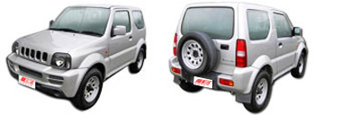 FIND NEW AFTERMARKET PARTS TO SUIT SUZUKI JIMNY 2001-