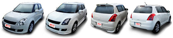 FIND NEW AFTERMARKET PARTS TO SUIT SUZUKI SWIFT 2005-