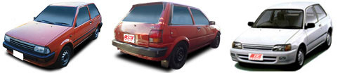 FIND NEW AFTERMARKET PARTS TO SUIT TOYOTA STARLET EP70/EP80 1985-1995