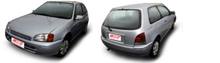 FIND NEW AFTERMARKET PARTS TO SUIT TOYOTA STARLET EP90 1996-